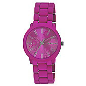 Kahuna Ladies Pink Resin Watch - KLB-0044L