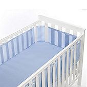 BreathableBaby Mesh Cot Liner Blue