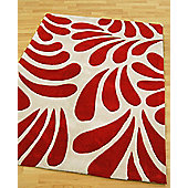 Origin Red Lily Red Rug - 120cm x 60cm