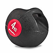 Bodymax Double Handle Medicine Ball - 4kg