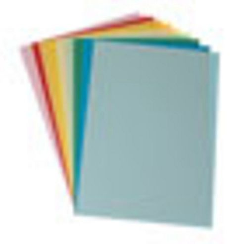 Coloured Card A4 Asst - 10 Pk