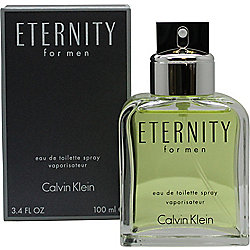 Calvin Klein Eternity Eau de Toilette (EDT) 100ml Spray For Men