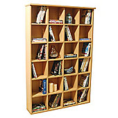 Techstyle DVD and CD Storage Shelves - Beech
