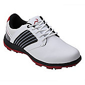 Woodworm Player 2.0 Golf Leather Shoes - Red