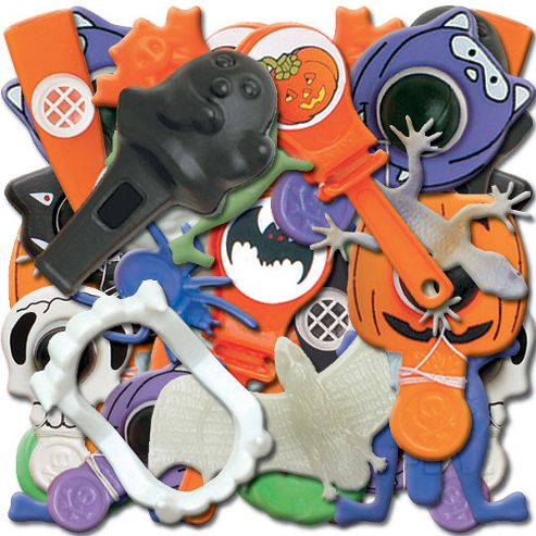 Halloween Pinata Fillers/Party Bag Toys (72pk)