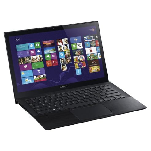 Sony Vaio Pro 13.3 inch Notebook, Intel Core i5, 4GB RAM, 128GB, Windows 8, Black