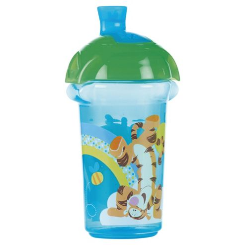Winnie The Pooh Blue Click Lock Spill Proof Cup