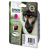 Epson DURABrite T0893 Ink Cartridge - Magenta (Inkjet - 1)