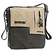 Okiedog Yukon Paige Changing Bag, Black/Beige