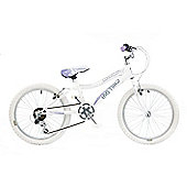 "Concept Chill Out Girls Six Speed 20"" Bike in White"