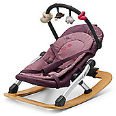 Concord Rio Baby Rocker with Toy Bar (Raspberry Pink)