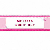 Party - Girl's Night Out Personalised Giant Banner - 1.65m x 85cm - Amscan