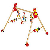 Heimess 739474 Wooden Baby Gym (Bear)