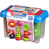 Bristle Blocks 58 Piece Jungle Bucket