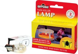 Flea Killer Spare Lamp 2-Pack
