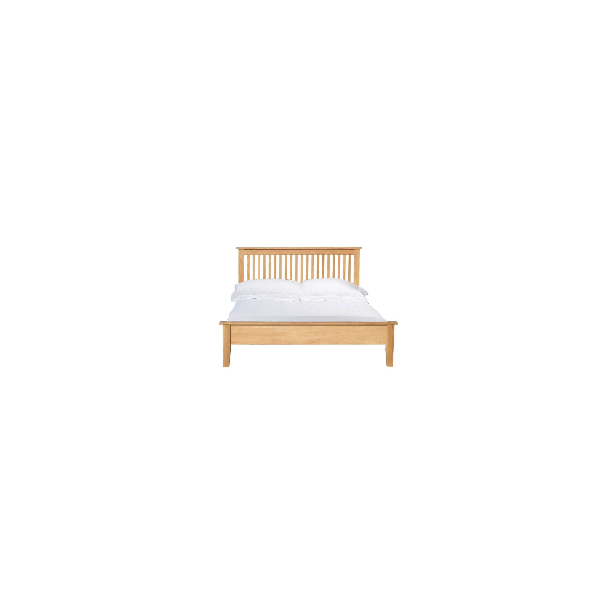 Home Zone Furniture Lincoln Bed Frame - Double at Tesco Direct