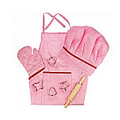 Bigjigs Toys Pink Chefs Set
