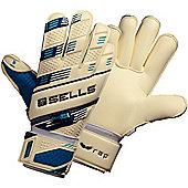 Sells Wrap Pro Aqua Junior Goalkeeper Gloves - White