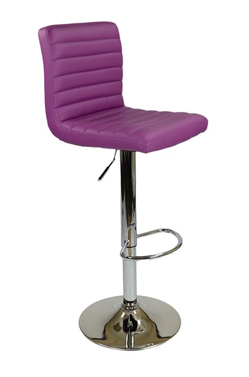 buy apollo purple bar stool from our bar tables stools. Black Bedroom Furniture Sets. Home Design Ideas