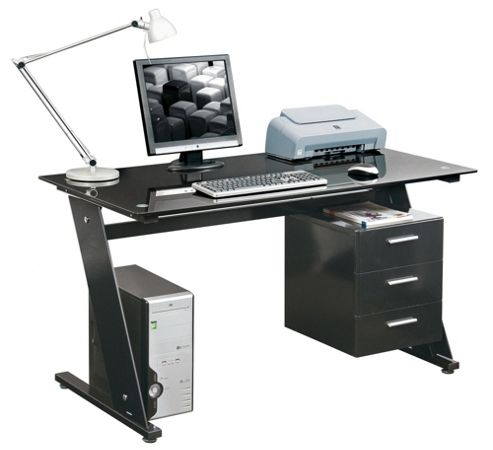 Buy aspect design l shaped computer desk from our office desks tables range tesco - Tesco office desk ...