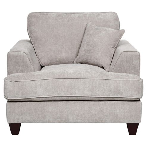 Kensington Fabric Chair Light Grey