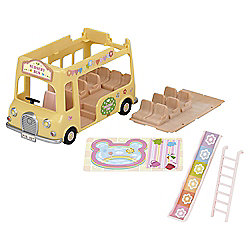 Sylvanian Families - Nursery Double Decker Bus
