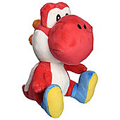 "Official Nintendo Super Mario Plush Series Stuffed Toy - 6"" Red Yoshi"