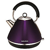 Morphy Richards Pyramid Kettle, 1.5L - Purple