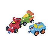 ELC Racing Car Magnetic Trio Set