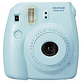 Fuji Instax Mini8 instant Camera, Blue, 20 shot bundle