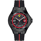 Scuderia Ferrari Gents Textures Of Racing Watch 0830027
