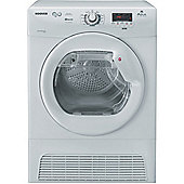 Hoover DYC7813B-80 Condenser Tumble Dryer, 8kg, B Energy Rating, White