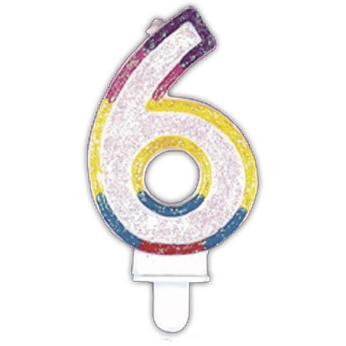 Number Candle 6