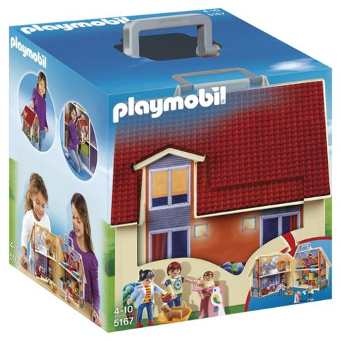 Playmobil 5167 Dollhouse Take Along Dollshouse