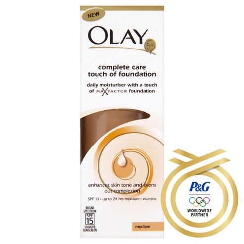 Olay Complete Care Touch Of Foundation. Medium 50Ml