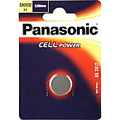 Panasonic CR2032 Lithium Coin Battery - Silver