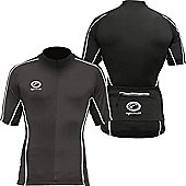 Optimum Hawkley Short Sleeved Mens Cycle Jersey - Black