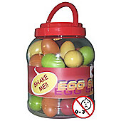 A-Star Multicoloured Egg Shakers - Box of 40