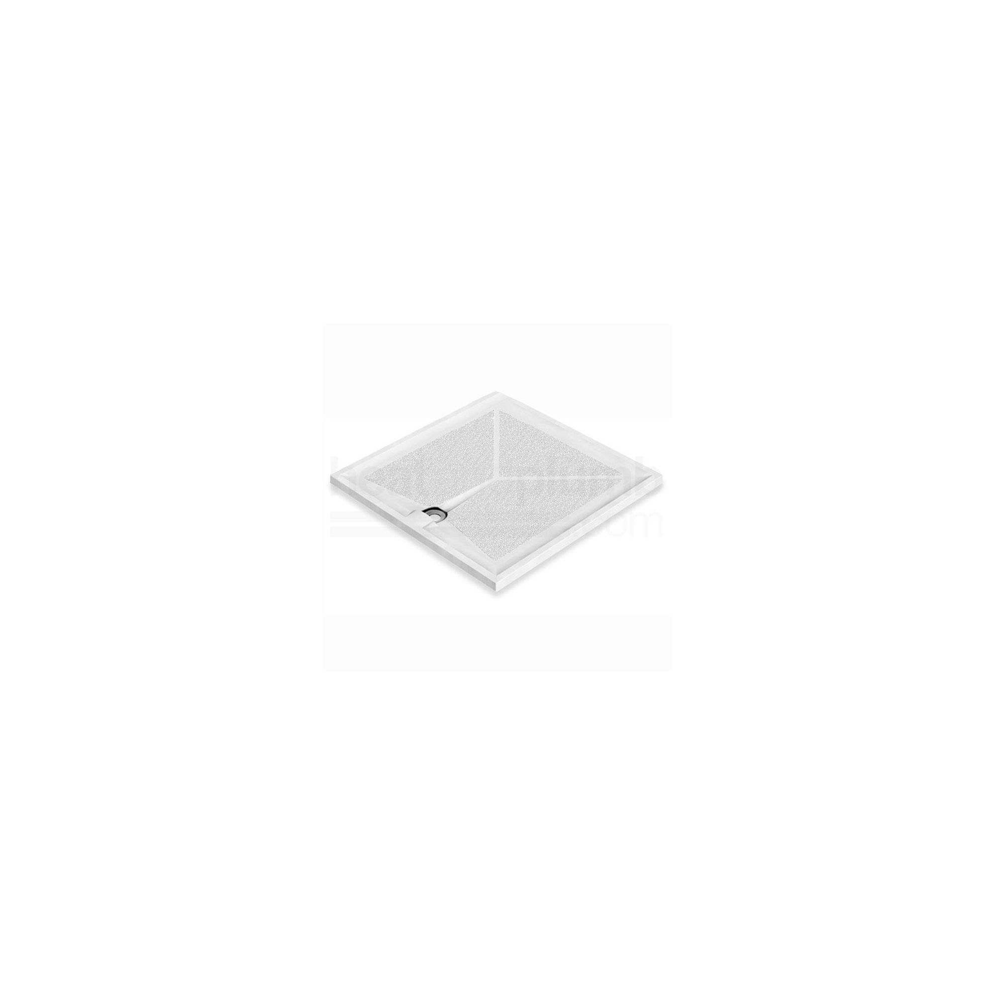 AKW Braddan Square Shower Tray 800mm x 800mm at Tesco Direct