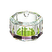 Pied A Terre Ra Inbow Prism Glass Storage Jar In Pink