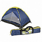 Summit 2 Man Monodome Outdoor Tent 2 Season Blue