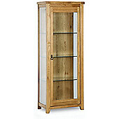 Kelburn Furniture Veneto Rustic Oak Glazed Display Cabinet