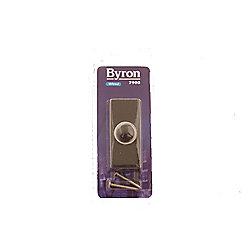 Byron 7900 Cent Bell Push Black