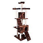 Confidence Pet Presidential Cat Kitten Tree Scratch Post Activity Centre Brown