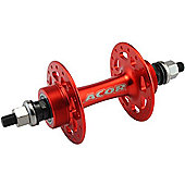 Acor Flip-Flop Track Hub: 32H Rear Red.