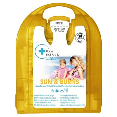 Wallaboo Baby First Aid Kit Sun Burns