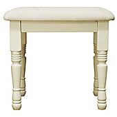 Ultimum Chateau Off White Dressing Stool
