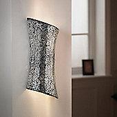 Endon Lighting Two Light Wall Bracket - Chrome