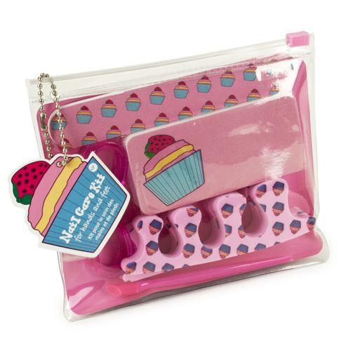 Cupcake Nail Care Kit
