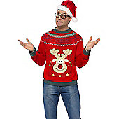 Christmas Jumper - Adult Costume Size: 38-40